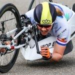 move forward handbike marathon